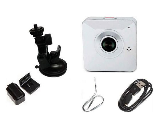 Mini Cámara Easy Eye | P2P | IP | WIFI se entrega con estos accesorios