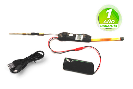 Mini Camara Espia | P2P | 1080P Visión Nocturna se entrega con estos accesorios
