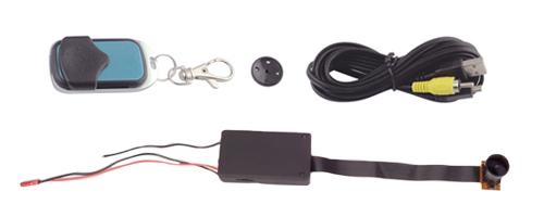 Mini Camara Invisible 1080P se entrega con estos accesorios