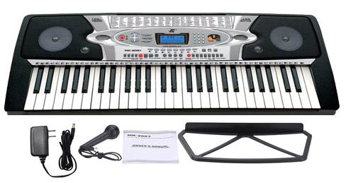 Órgano Electrónico MK 2061 se entrega con estos accesorios