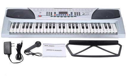 Órgano Electrónico MK 2083 se entrega con estos accesorios