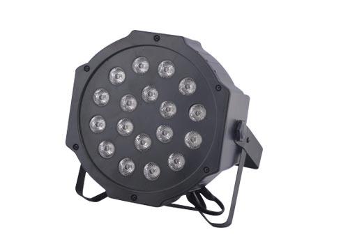 Par Luz Led Protón RGB 18 3W se entrega con estos accesorios