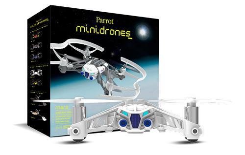 MiniDrone Airborne Cargo Parrot se entrega con estos accesorios