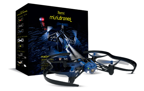 MiniDrone Airborne Night Parrot se entrega con estos accesorios