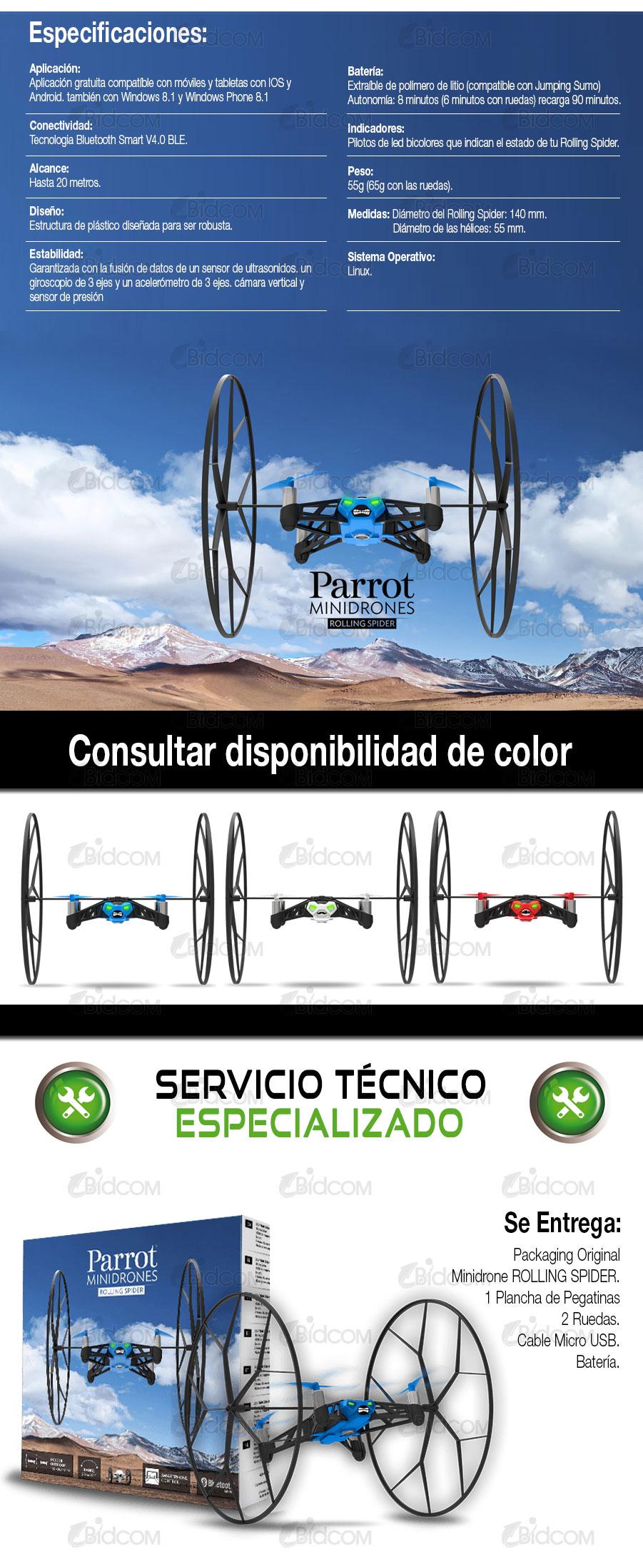 Parrot MiniDrones | Rolling Spider