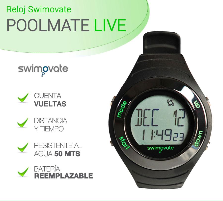 afc0f3c5f1ae Reloj De Natación Poolmate Live Cuenta Vueltas Y Brazadas   2399.99 ...
