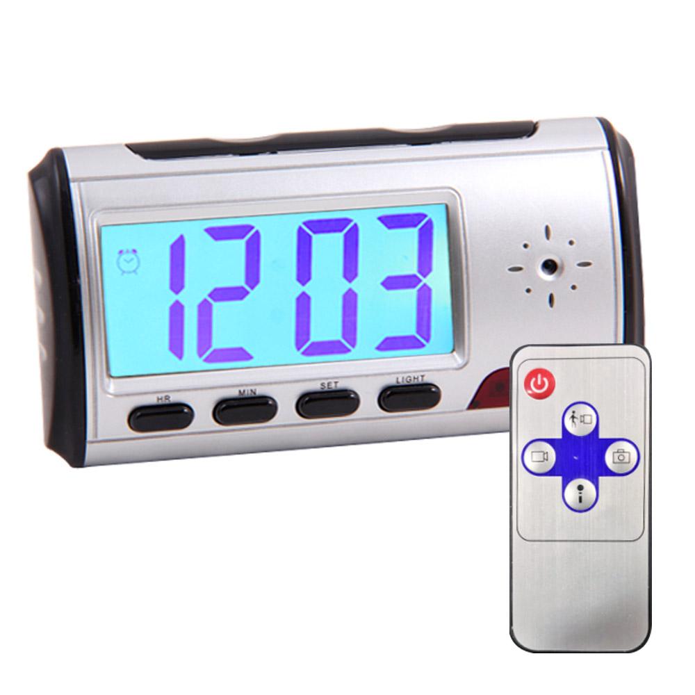 3c31924290f9 Reloj Despertador Cámara Oculta Wakeup Pro