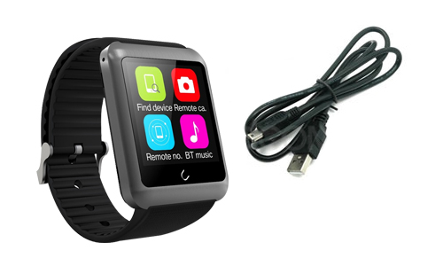 Smart Watch Bluetooth U10 se entrega con estos accesorios