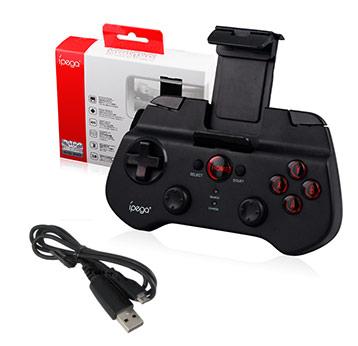 Joystick Bluetooth Ipega 9025 se entrega con estos accesorios