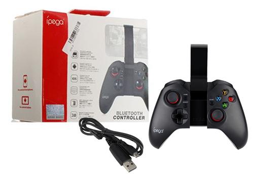 Joystick Bluetooth Smartphone 9037 se entrega con estos accesorios