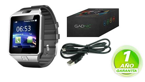 Smart Watch GADNIC Z09 | SIM | Bluetooth se entrega con estos accesorios