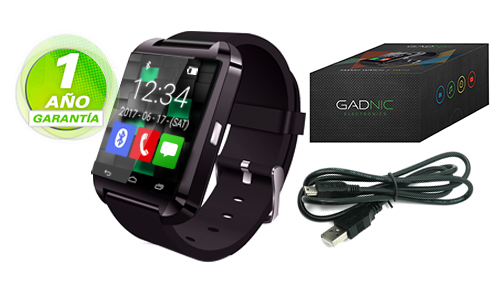 Smart Watch GADNIC SW10 | Bluetooth se entrega con estos accesorios