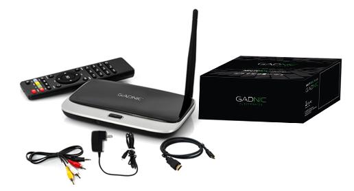 TV BOX Android Gadnic | TX-100 QuadCore 4GB se entrega con estos accesorios