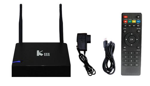 TV BOX Android | KIII  4k | PentaCore | 16GB se entrega con estos accesorios