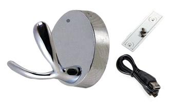 Perchero Espía HOOK 2 720p se entrega con estos accesorios