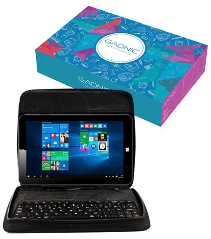Tablet Gadnic Follow 7″ con Windows 10 + Funda con Teclado se entrega con estos accesorios