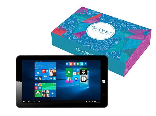 Tablet Gadnic 7″ Windows 10 Intel se entrega con estos accesorios