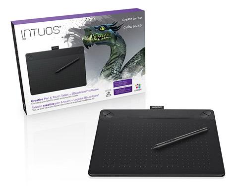 Tableta Gráfica Wacom Intuos 3D Medium se entrega con estos accesorios