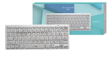 Mini Teclado Bluetooth Gadnic | MK01 se entrega con estos accesorios