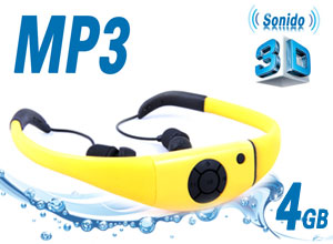 MP3 Player Sumergible con sonido 3D