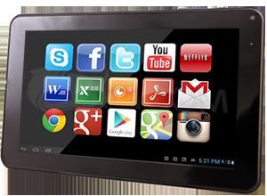 Tablet Dualuxe – Dualcam