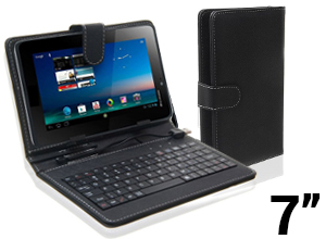 Funda Tablet 7″ con Teclado