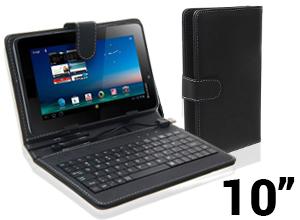 Funda con Teclado para Tablet de 10″