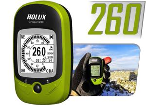 GPS Deportivo Holux 260