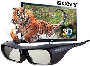 Lente 3D Sony Activo