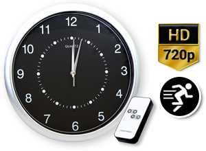 Reloj de Pared Espía