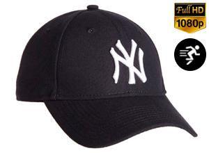 Gorra espía deportiva | NY  FULL HD