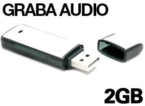 Pendrive Espía Grabador 2GB