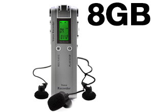 "Grabador de Audio ""Dual Microphone"""