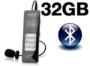 Grabador de Audio Professional Cable/Bluetooth