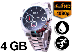 Reloj Infrarrojo Sumergible Camera Watch FULL HD