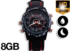 """Reloj Espía Sumergible """"Hydro Watch"""""""