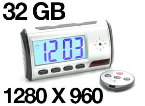 Reloj Despertador Espía Wakeup Spy Pro