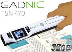 Escáner portátil GADNIC TSN470