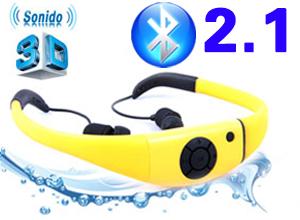 Auriculares Bluetooth con sonido 3D