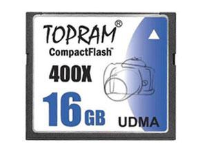 Memoria CompactFlash TopRam 16gb