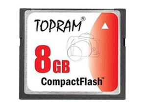 Memoria CompactFlash TopRam 8gb