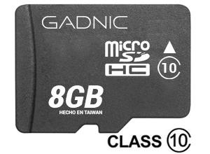 Memoria Micro SDHC 8gb