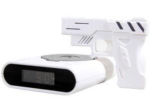 Despertador Pistola Tiro Al Blanco