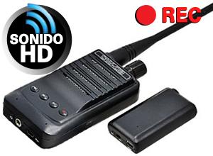 Micrófono Inalámbrico Espía CW-03.04 REC