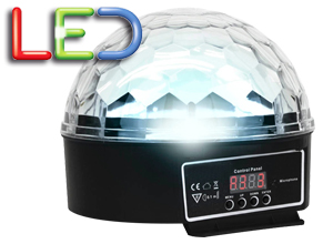 Esfera LED RGB