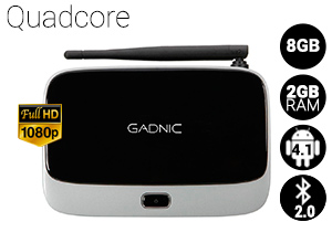 TV BOX Android Gadnic | TX-200 QuadCore 8GB
