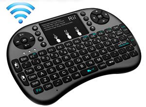 Mini Teclado Inalámbrico para Smart TV