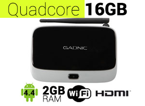 TV BOX Android Gadnic | TX-200 QuadCore 16GB