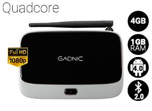 TV BOX Android Gadnic | TX-100 QuadCore 4GB