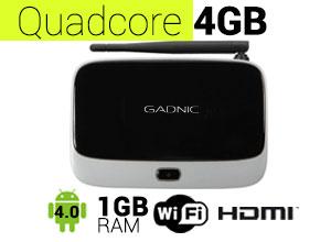 TV BOX Android Gadnic   TX-200 QuadCore 4GB